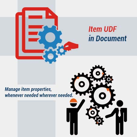 New Features Of Item UDF Accounting Software