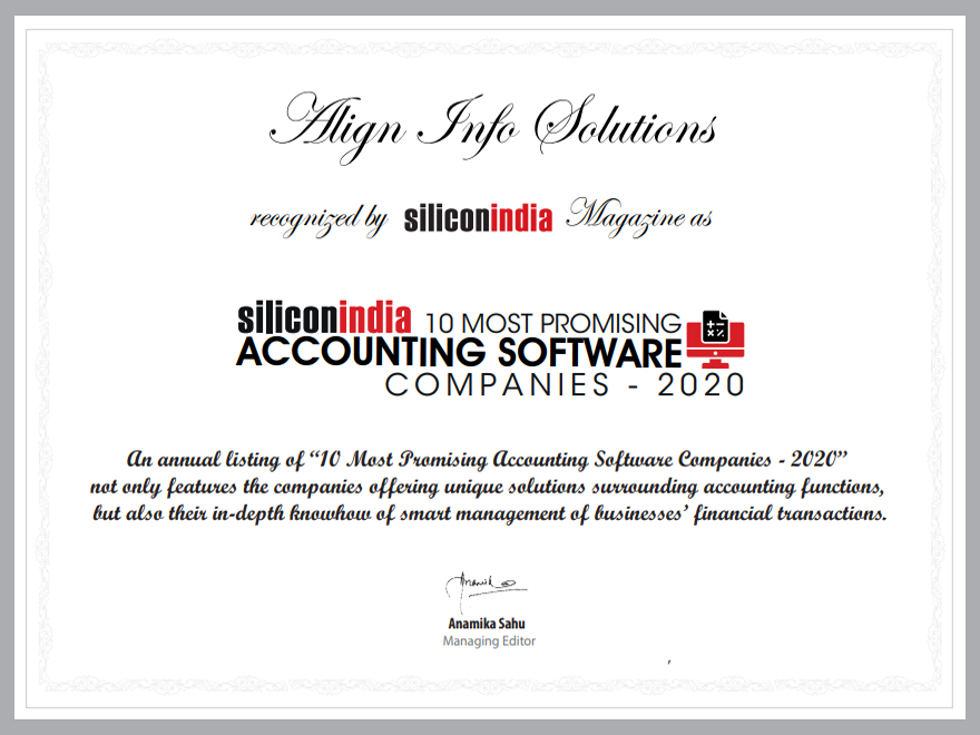 Events Of AlignBooks Online Accounting
